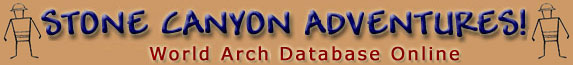 Stone Canyon Adventures - World Arch Database